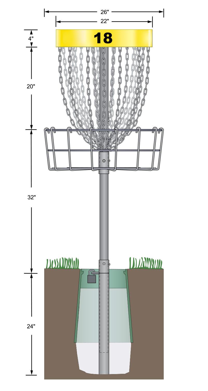 discatcher pro 28 innova disc golf. Black Bedroom Furniture Sets. Home Design Ideas