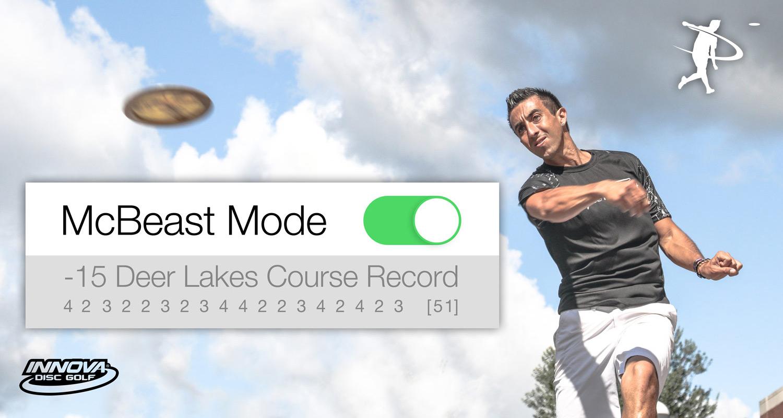 McBeast Mode: ON - Deer Lakes Record
