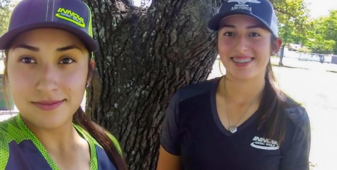 Driven Together. How Two Sisters Became a Force in Disc Golf