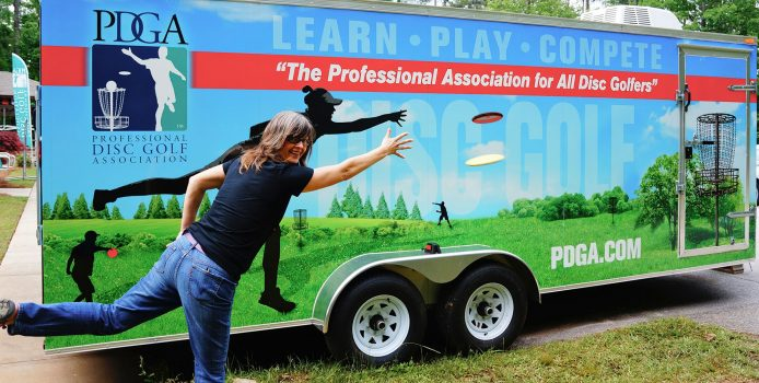Driven to Grow the Game: Des Reading Chosen for Educational Role with the PDGA