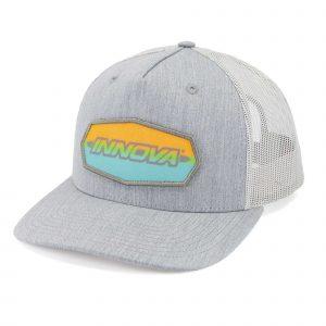 Innova striped bar logo hat