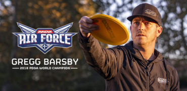 Gregg Barsby World Champion Disc Golfer