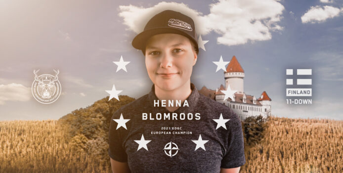 2021 European Disc Golf Champion Henna Blomroos Q&A